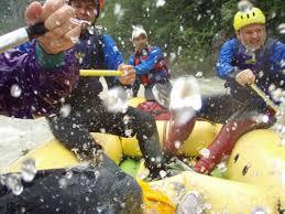 rafting na savi